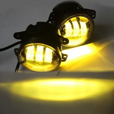 LED Yellow Fog Light